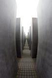 Мемориал к убитым евреям Европы, Берлина, Германии Стоковое Изображение