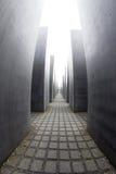 Мемориал к убитым евреям Европы, Берлина, Германии Стоковое Фото