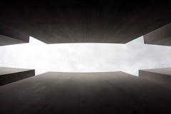Мемориал к убитым евреям Европы, Берлина, Германии Стоковая Фотография RF