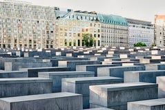 Мемориал к убитым евреям Европы, Берлина Стоковая Фотография RF