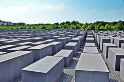 Мемориал к убитым евреям Европы #2 Стоковые Изображения
