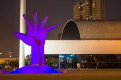 Мемориал Латинской Америки Стоковые Изображения RF