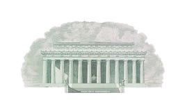Мемориал Линкольна, Вашингтон, США Стоковая Фотография