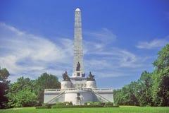 Мемориал Линкольна, Спрингфилд, Иллинойс Стоковая Фотография RF