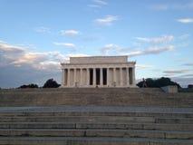 Мемориал Линкольна Стоковые Изображения RF