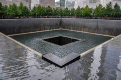 9-11 мемориал - Манхаттан, NY стоковые изображения