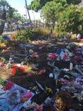 Мемориал нападения isis стоковая фотография