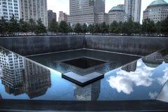 9/11 мемориалов в Нью-Йорке Стоковое фото RF