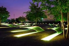 9/11 мемориалов на Пентагоне Стоковая Фотография