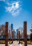 9/11 мемориалов от Jersey City, NJ Стоковые Изображения RF