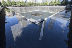 Мемориал 11-ое сентября - Нью-Йорк, США Стоковые Изображения