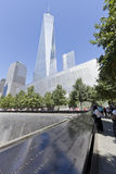 Мемориал 11-ое сентября - Нью-Йорк, США Стоковые Изображения RF