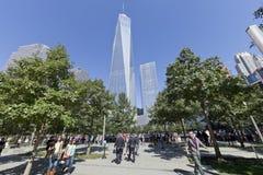 Мемориал 11-ое сентября - Нью-Йорк, США Стоковые Фото