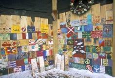 Мемориал 11-ое сентября 2001, Нью-Йорк, NY Стоковые Фотографии RF