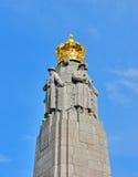 Мемориал пехоты в Брюсселе, Бельгии Стоковые Фотографии RF