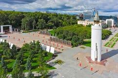 Мемориал победы в Великой Отечественной войне Стоковая Фотография RF