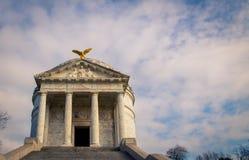 Мемориал положения Иллинойса в Vicksburg стоковое изображение