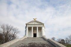 Мемориал положения Иллинойса в Vicksburg стоковые фото