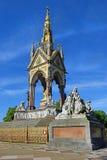 Мемориал принца Альберта, область Гайд-парка, Лондон, Великобритания Стоковое Фото