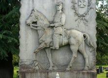 Мемориал сброса, надгробный камень Стоковые Изображения RF