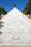 Мемориал с статуей Наполеон Бонапарт Стоковые Изображения