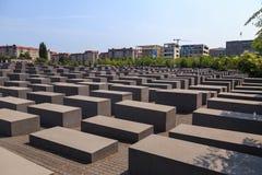 Мемориал холокоста Берлина Стоковые Изображения RF