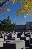 Мемориал холокоста, Берлин, Германия Стоковая Фотография RF
