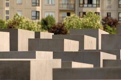 Мемориал холокоста в Берлине, Германии Стоковые Изображения RF