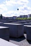 Мемориал холокоста в Берлине Германии Стоковые Фотографии RF