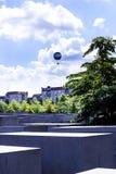 Мемориал холокоста в Берлине Германии Стоковые Изображения RF