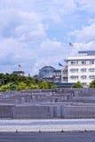 Мемориал холокоста в Берлине Германии Стоковое Изображение RF