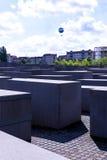 Мемориал холокоста в Берлине Германии Стоковая Фотография RF