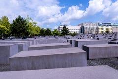 Мемориал холокоста в Берлине Германии Стоковое фото RF