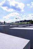 Мемориал холокоста в Берлине Германии Стоковые Изображения
