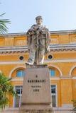 Мемориальная статуя к Garibaldi в Равенне стоковая фотография