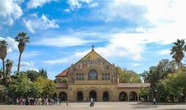 Мемориальная церковь на Стэнфордском университете Стоковое Изображение