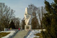 Мемориальные границы Ilyinskaya комплекса и музея в зоне Kaluga в России Стоковое Изображение