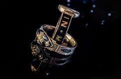 Мемориальные кольца стоковая фотография rf