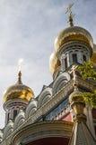 Мемориальный висок рождения Христоса в деревне Shipka стоковое фото