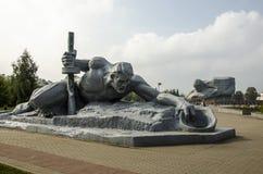 Мемориальный комплекс в Бресте стоковая фотография