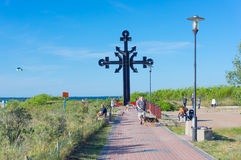 Мемориальный крест Стоковые Фото