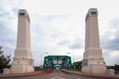 Мемориальный мост, Бангкок стоковая фотография