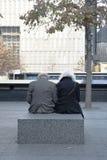 9-11 мемориальный Нью-Йорк Стоковое фото RF