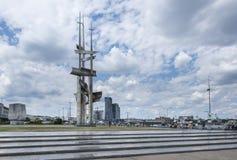 Мемориальный памятник в Гдыне, Польше Стоковое Изображение