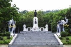 Мемориальный памятник короля Rama i Стоковая Фотография RF