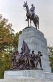 Мемориальный памятник, Gettysburg, PA Стоковое Фото