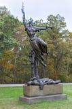 Мемориальный памятник, Gettysburg, PA Стоковое Изображение RF