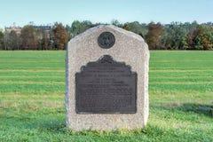 Мемориальный памятник, Gettysburg, PA Стоковые Изображения RF