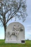 Мемориальный памятник, Gettysburg, PA Стоковые Фотографии RF