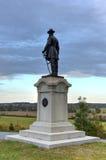 Мемориальный памятник, Gettysburg, PA Стоковое Изображение